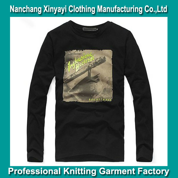 Garment Making Factories T-Shirt Manufacturer New Design Printed T Shirt Sale