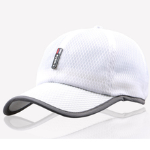 Baseball Running Man Caps Hard <strong>Hat</strong> Man Mesh White United Cap