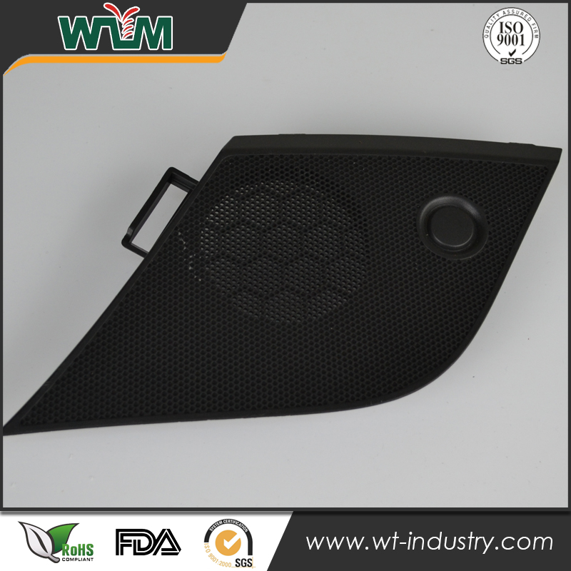 Electronic spare parts new products speaker mesh plastic injection part