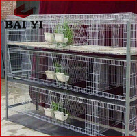 Wire Mesh Cage For Rabbit/Welded Rabbit Cage Wire Mesh/Wire Rabbit Cages Sale