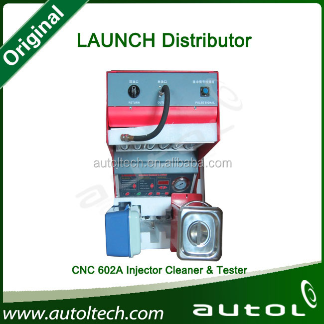 Automotive Tools LAUNCH CNC602A Car Washing Machine Fuel Injector Cleaning Machine