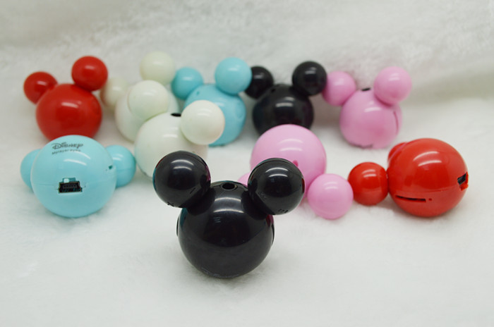 wholesale animal mini mp3 mickey mouse mp3 player suport tf card