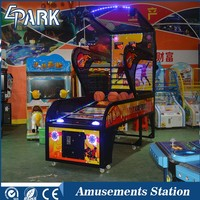 Best price luxury street basketball shooting arcade game machine