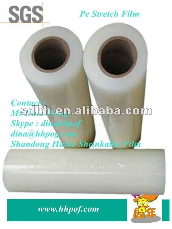 Pallet Machine Use Pe Stretch Wrap Film