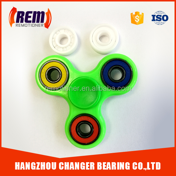 hybrid ceramic bearing 608 with SI3N4 black balls for fidget spinner