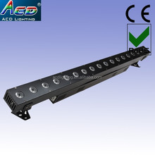 180w quad color rgbw 4in1 18*10w dmx 512 control led the stage lights
