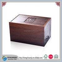 wood Urn Type and wood Material wooden Pet Cremation Urn