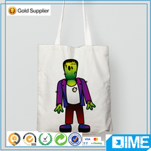 Halloween Cotton Bag Tote Shopping Bag Blank For Kids Candy
