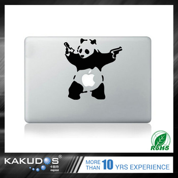 Easy pasting PVC Material laptop skin sticker for macbook air