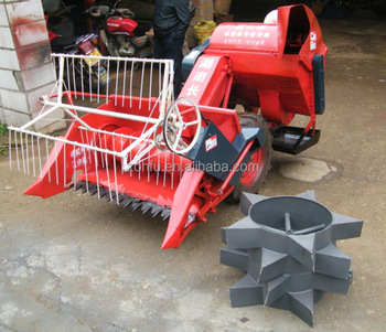 multi functional paddy small combine harvester