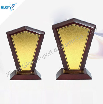 Blank Wooden Trophies and Award for Souvenir