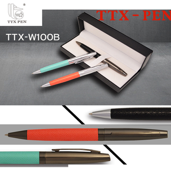 Classical Luxury vip gift ball point pen Stationery Gifts metal pen set metal ball pen