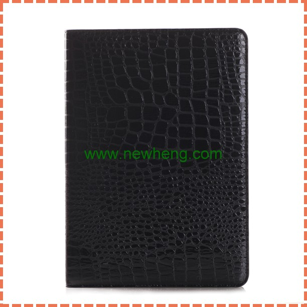Hot Selling Crocodile design PU Leather Stand Case for iPad Pro 12.9""