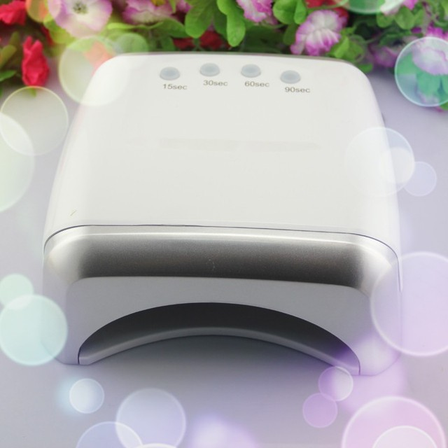 54W Powerful LED&CCFL Nail Lamp for UV Gel Polish Cure Very Fast Pro Nail Dryer 60w led uv lamp for gel nails