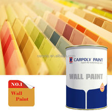 Hot Selling!!! CARPOLY High Performance Interior Wall Paint Colors