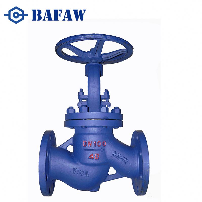 Cast steel quick closing chromium molybdenum alloy globe valve