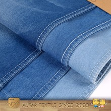 Modern knitted artificial thin cotton denim fabric