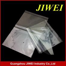 transparent plastic cheap self adhesive clear opp bag