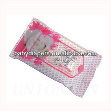 10pcs small packing wet wipes for baby