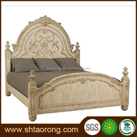 high quality antique european style bed TRBD-127