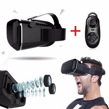High Tech Virtual Reality Simulation Free Video 3D VR Headset