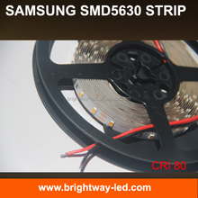 High brightness 55Lumen/LED epistar 5630 smd led samsung 5630 led strip 5 year warranty CRI 85