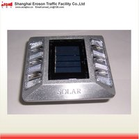 Traffic Safety Facilities Aluminium pavement solar cat maker road stud
