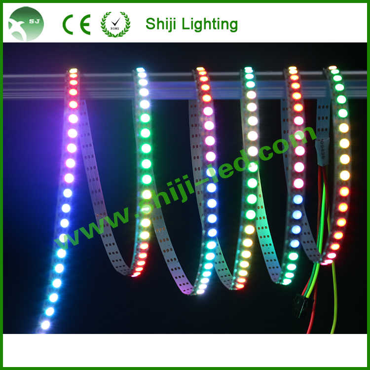 10/20/30/ 60/72/144 <strong>led</strong>/m apa102 DC 5v 5050 smd rgb <strong>led</strong> pixel flex strip
