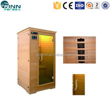 Factory price outdoor portable dry steam sauna house