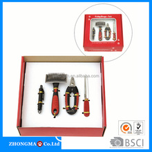 Red comb dog products pet dog grooming dog grooming brush/pet nail clippers--ZM1334