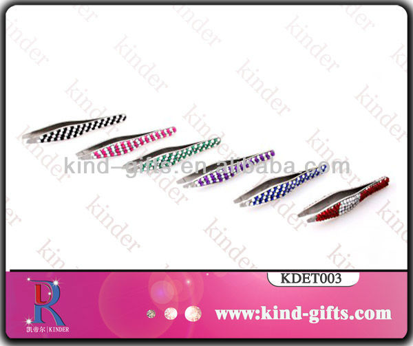 Hot Selling Diamond Sharp Tweezers For Personal Care