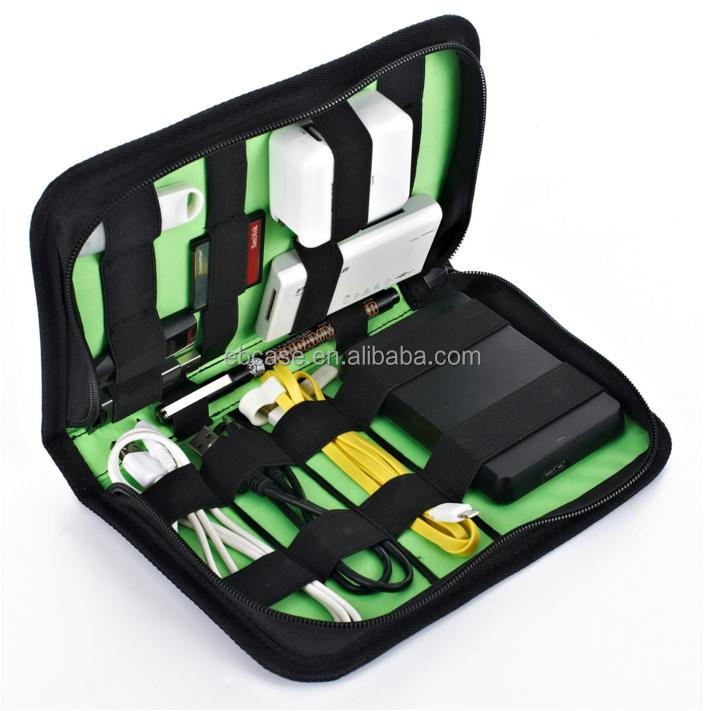 Durable Travel Electronics Accessories Storage Bag and Cable Organizer Bag
