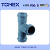 Best price customed color water system rubber pvc pipe fitting