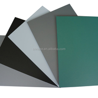 Facade interior decorative wall material 3mm PE aluminum composite panels