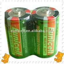 High energy Carbon Zinc D size R20P battery 1.5v R20 size D dry cell battery