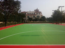 VMKON TouchPro Outdoor soft and resilient interlocking floor for multiple used basketball court futsal court football court