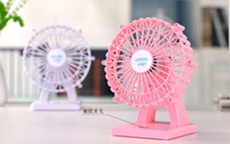 6 inch Mini USB Silent charging Desktop Handheld fan