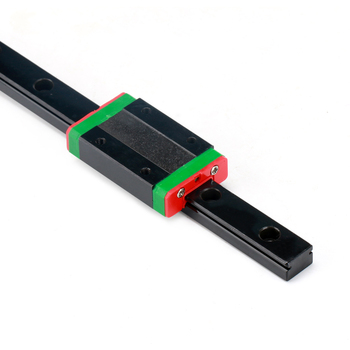 3d Printer Parts Black Linear Guide Rail MGN7 with MGN7C/MGN7H Block