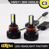 Toppest higher power auto LED headlight bulb H11