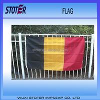 Euro 2016 Country flag of belgian , belgian flag