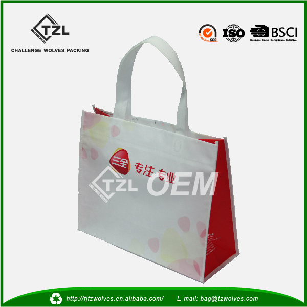 2016 China online recycled, foldable pp Non woven shopping bags