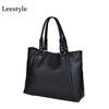 China Manufacture Women's PU Leather Handbags Tote Casual Work Bag Leather Ladies Handbag