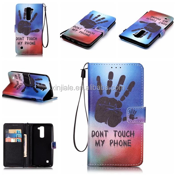 Wholesale Flip Magnetic Leather Wallet Case Flower Printing Cartoon Cover Phone Shell For LG Nokia Mobile Phone Accessories