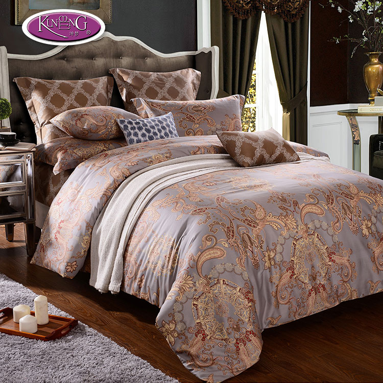 china factory home textile luxury pattern printing 100% egyptian cotton bed sheet bedding <strong>set</strong>