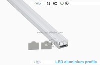Alu profile for led lighting shop with 30 degree clear lens
