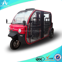 China Passenger Tricycle 3 Wheel Motorcycle with enclosed cab