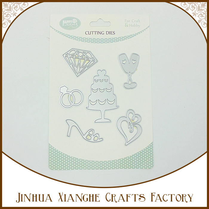 Wedding Theme Cutting Die Embossing Cutting Dies