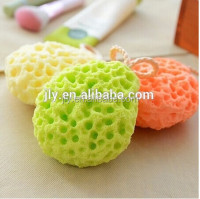 Top Sale Amazon! Soft Sponge Body Bath Shower Spa Exfoliator FACE Washing Cleansing Puff Scrubber