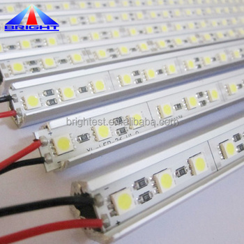 2018 Hot sale IP65 12V 3528/5050 SMD 4.8w LED Rigid Strip light