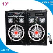 10 inch 80 W Bluetooth Speaker Active Speaker Hifi stage speaker with EQ